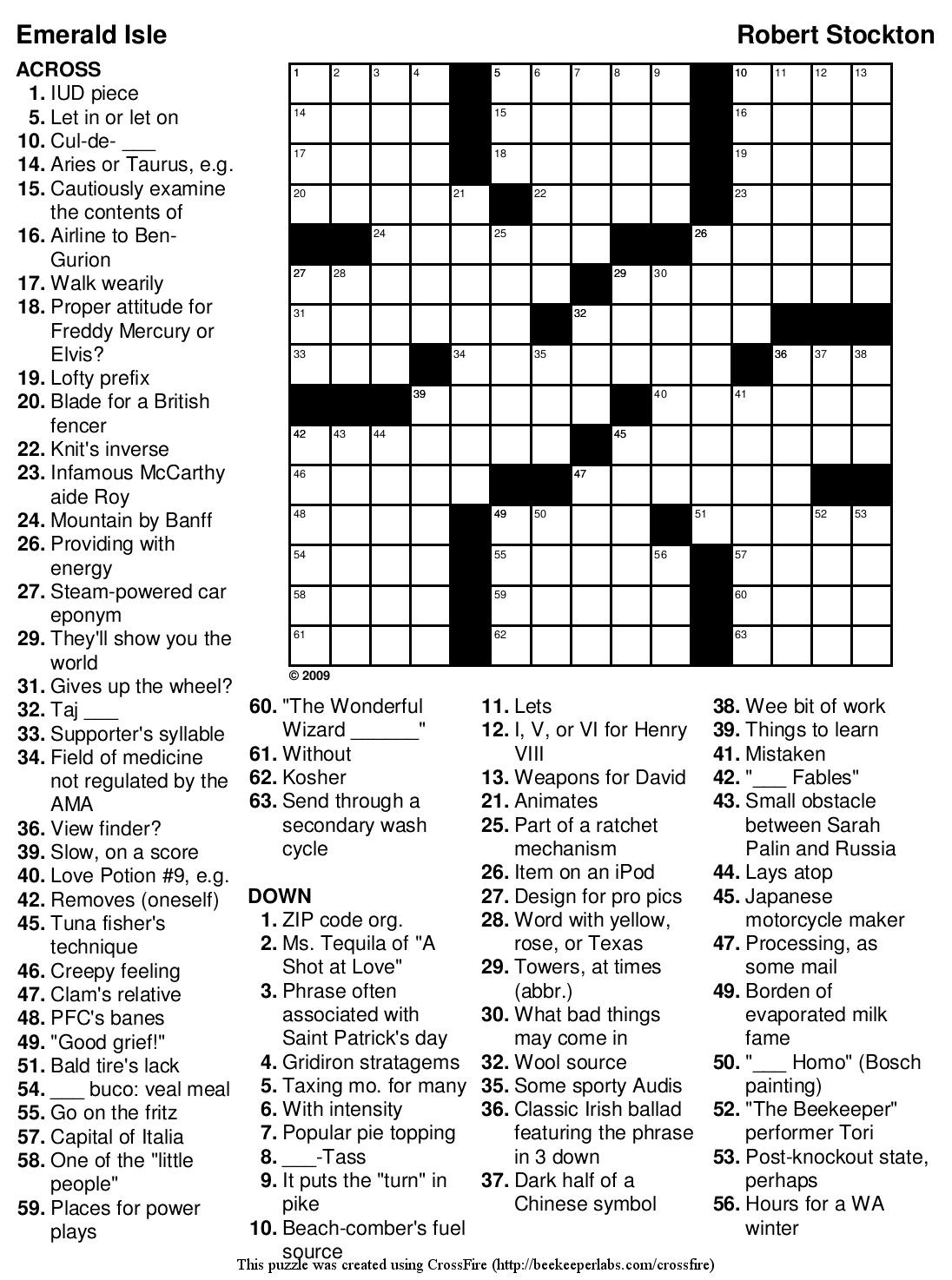 Free coloring pages of medium crossword