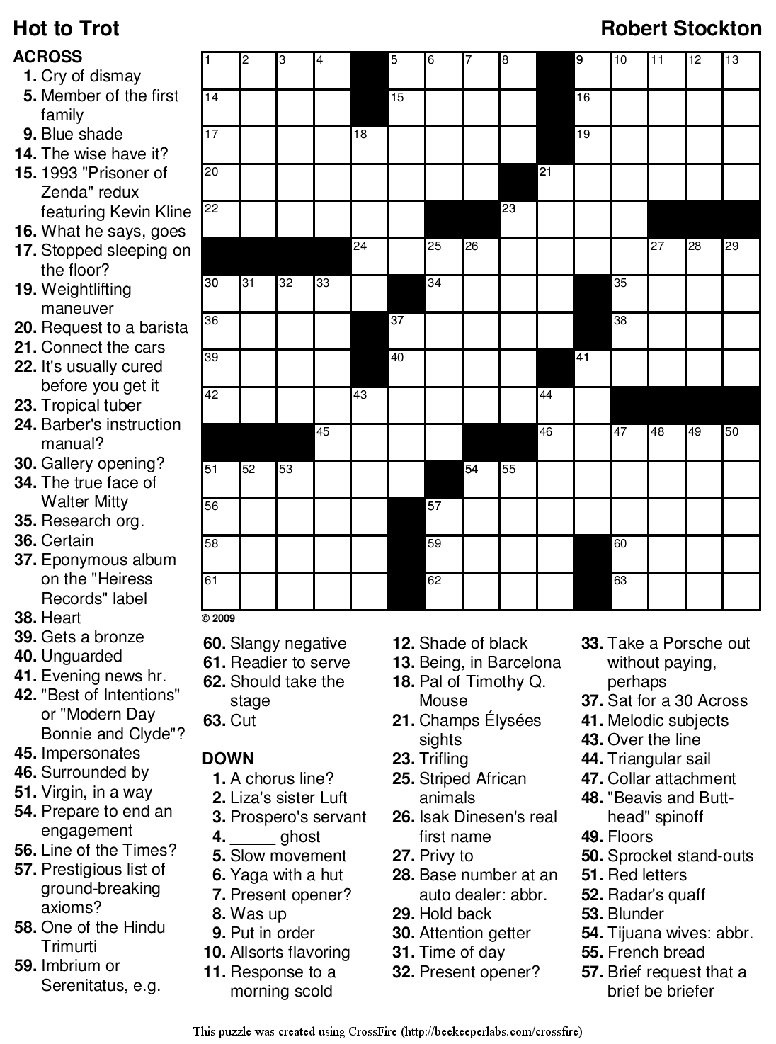 graphic about Hard Crossword Puzzles Printable called Beekeeper Crosswords