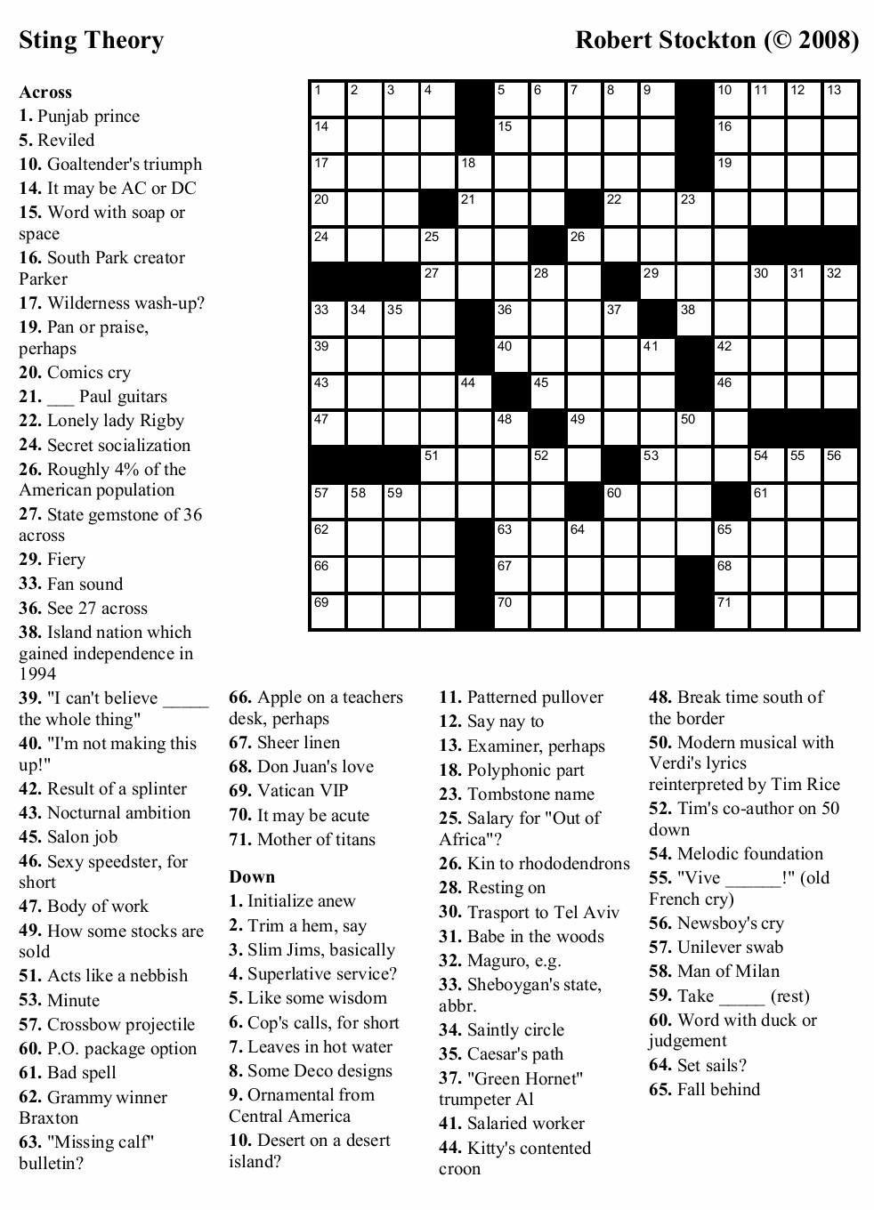 This is a graphic of Irresistible Printable Crossword Puzzles Hard