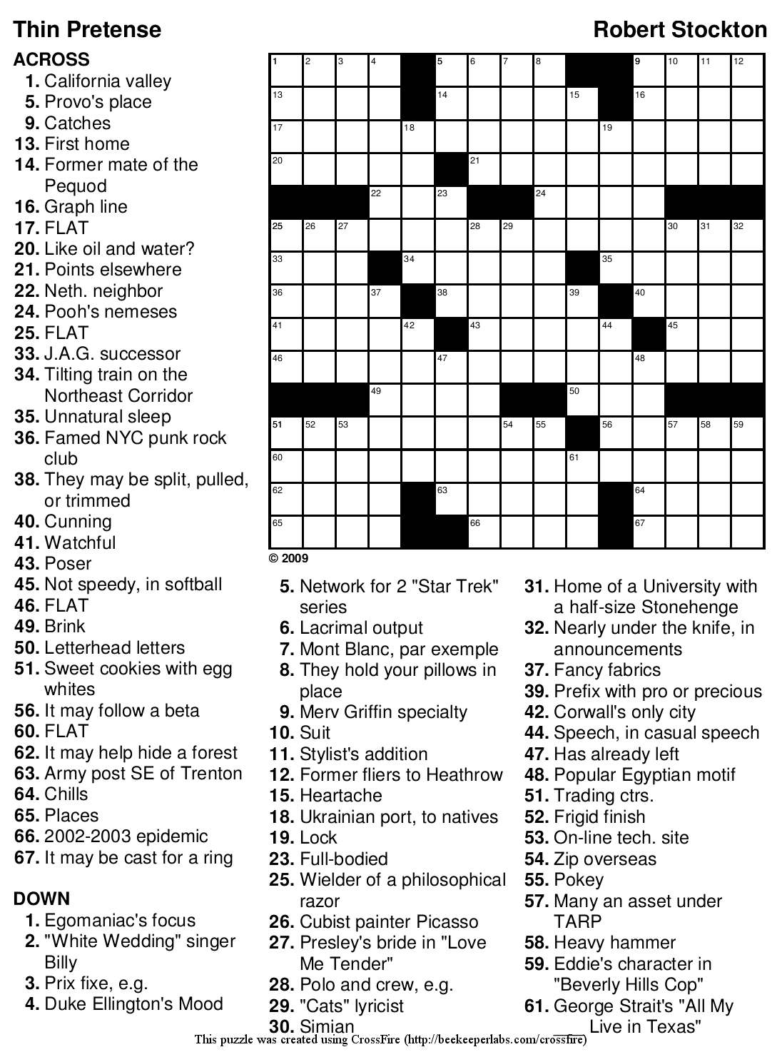 """Search Results for """"Easy Printable Crossword"""" – Calendar 2015"""